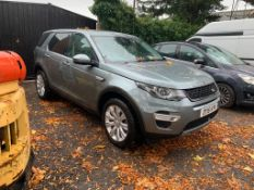 2015/15 REG LAND ROVER DISCOVERY SPORT SD4 HSE LUXURY 2.2 DIESEL AUTOMATIC, SHOWING 3 FORMER KEEPERS