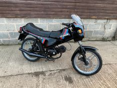 TOMOS AT50 MOPED, YEAR 1989, PETROL, MILEAGE: 34,180, DOCUMENTS PRESENT *NO VAT*