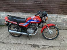 1995 HONDA CG125BR-K MOTORCYCLE, PETROL, MILEAGE: 30,335, HPI CLEAR *NO VAT*