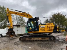 JCB JS260LC 26 TON STEEL TRACKED CRAWLER EXCAVATOR / DIGGER, YEAR 2014, ONLY 9388 HOURS *PLUS VAT*