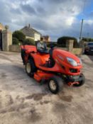 KUBOTA GR2100 GLIDE STEER RIDE ON LAWN MOWER, 4 WHEEL DRIVE, RUNS, WORKS AND CUTS *NO VAT*