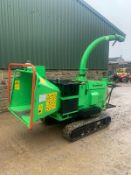 2014 GREENMECH ARB TRACK 150-35 STAND ON / WALK BEHIND WOOD CHIPPER, RUNS, DRIVES & CHIPS *PLUS VAT*