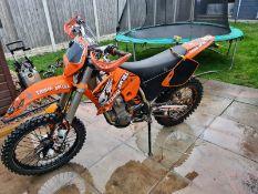2002/52 REG KTM 400 EXC PETROL ORANGE MOTORCYCLE *NO VAT*