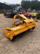 McCONNELL MDL180 FLAIL MOWER, SIDE SHIFT, C/W PTO *PLUS VAT*