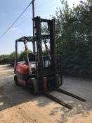 TOYOTA 20 FORKLIFT, RUNS, DRIVES AND LIFTS *PLUS VAT*