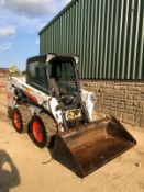 2014 BOBCAT S550 SKIDSTEER, C/W BUCKET, HIGH FLOW HYDRAULIC, RUNS, DRIVES AND DIGS *PLUS VAT*