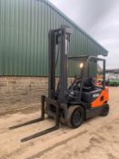 2012 DOOSAN D30S FORKLIFT, RUNS, DRIVES AND LIFTS, CLEAN MACHINE *PLUS VAT*