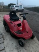 CASTLEGARDEN F72 RIDE ON MOWER, RUNS, DRIVES AND CUTS, NEW BATTERY *NO VAT*