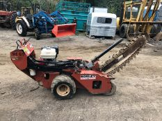 DITCH WITCH WALK BEHIND TRENCHER, RUNS, DRIVES AND DIGS *PLUS VAT*