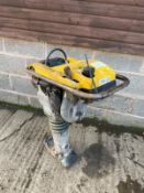 2013 WACKER NEUSON BS50-2 TRENCH RAMMER, DIRECT FROM MAJOR HIRE COMPANY *PLUS VAT*