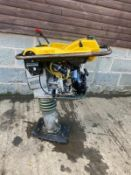 2014 WACKER NEUSON BS50-4 TRENCH RAMMER, DIRECT FROM MAJOR HIRE COMPANY, 4 STROKE PETROL *PLUS VAT*