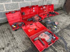 Hilti power tools job lot - All direct from gap hire - Untested *PLUS VAT*