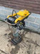2015 Wacker neuson BS50-4 Trench rammer, Direct from major hire company, 4 stroke petrol engine