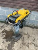2015 WACKER NEUSON BS50-4 TRENCH RAMMER, DIRECT FROM MAJOR HIRE COMPANY, 4 STORKE PETROL ENGINE