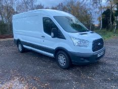 2016/66 REG FORD TRANSIT 350 2.0 DIESEL WHITE PANEL VAN, SHOWING 1 FORMER KEEPER *NO VAT*