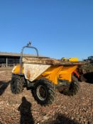2011 TEREX 6 TON DUMPER, RUNS, DRIVES AND DUMPS, CLEAN MACHINE, CANOPY *PLUS VAT*