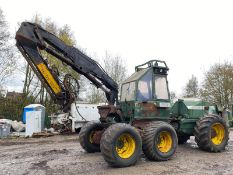 FMG 746/250 LOG HARVESTER OSA SUPER EVA, 6X6 WHEEL DRIVE, RUNS, DRIVES AND LIFTS *PLUS VAT*
