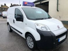 2013/13 REG FIAT FIORINO 16V MULTIJET 1.25 DIESEL WHITE PANEL VAN, SHOWING 2 FORMER KEEPERS