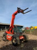 2005 MANITOU MLT 627 TURBO TELEHANDLER, RUNS, DRIVES AND LIFTS, C/W PALLET FORKS *PLUS VAT*