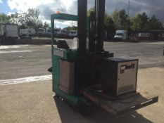 MITSUBISHI HIGH MAST ELECTRIC FORKLIFT GOOD WORKING ORDER WITH CHARGER *PLUS VAT*