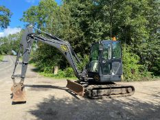 TEREX TC50 5 TON RUBBER TRACKED DIGGER / EXCAVATOR, YEAR 2007, 2 SPEED TRACKING, 2290 HOURS