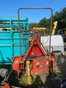 REAR PRO TRACTOR FORESTRY WINCH, IN WORKING CONDITION *PLUS VAT*