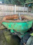Ausa 150-DG Dumper, 1.5 Ton, Swivel Skip, Canopy, No Battery *NO VAT*