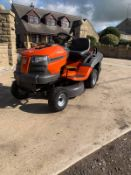 HUSQVARNA CTH 126 RIDE ON LAWN MOWER, RUNS, DRIVES AND CUTS, EX DEMO CONDITION, CLEAN MACHINE