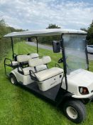 GOLFBUGGY 6 SEATER, CUSHMAN SHUTTLE 6, ELECTRIC, YEAR 2016, VERY LITTLE USE, FULL SUN CANOPY