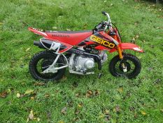 HONDA CRF50F MOTOR BIKE, 50CC ENGINE, GENUINE JAPANESE BUILT NOT CHINESE *NO VAT*