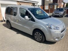 2014/14 REG PEUGEOT HORIZON S TEPEE 1.6 DIESEL SILVER 5 SPEED MANUAL, CONVERSION BY ALLIED MOBILITY