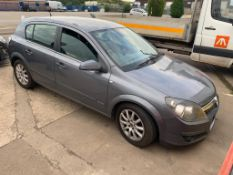 2005/54 REF VAUXHALL ASTRA ELITE 1.7 CDTI 100HP 5 DOOR HATCHBACK GREY *NO VAT*