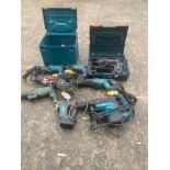 JOB LOT MAKITA DIRECT GAP EX HIRE UNTESTED, DELIVERY £40 ANYWHERE UK *PLUS VAT*