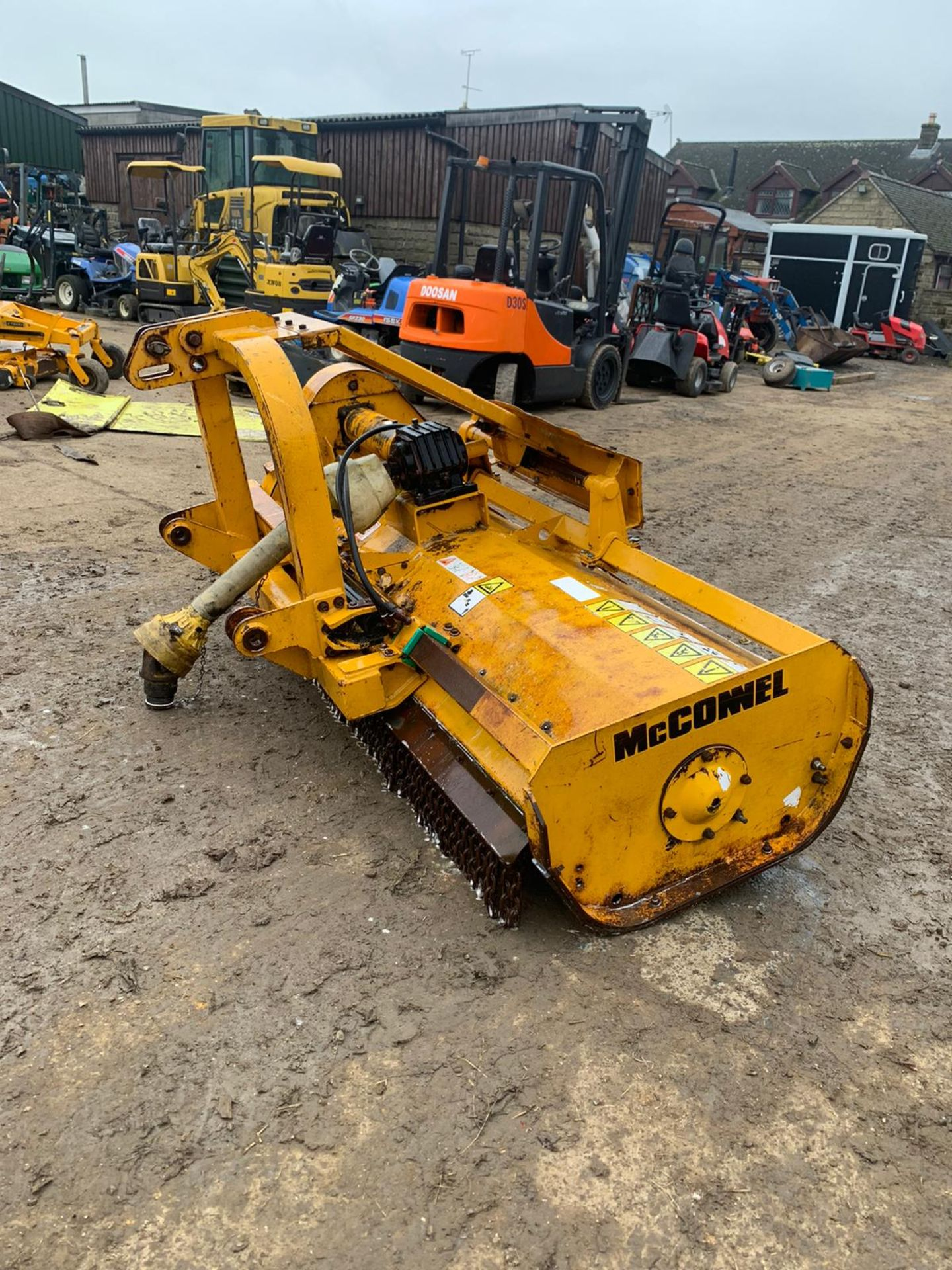 McCONNELL MDL180 FLAIL MOWER, SIDE SHIFT, C/W PTO *PLUS VAT* - Image 3 of 5