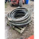 CONCRETE PUMP PIPES, PRICE IS FOR ALL 5 PIPES ON THE PALLET *PLUS VAT*