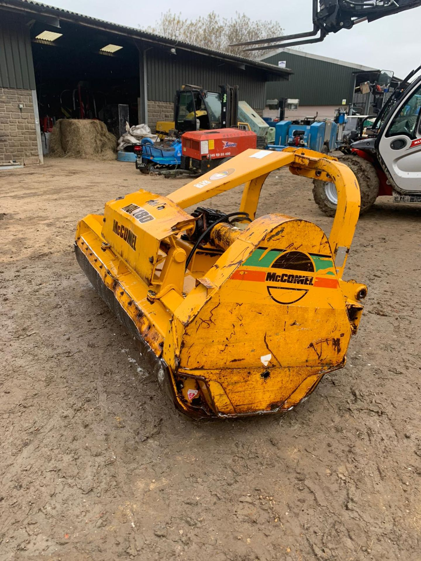 McCONNELL MDL180 FLAIL MOWER, SIDE SHIFT, C/W PTO *PLUS VAT* - Image 2 of 5