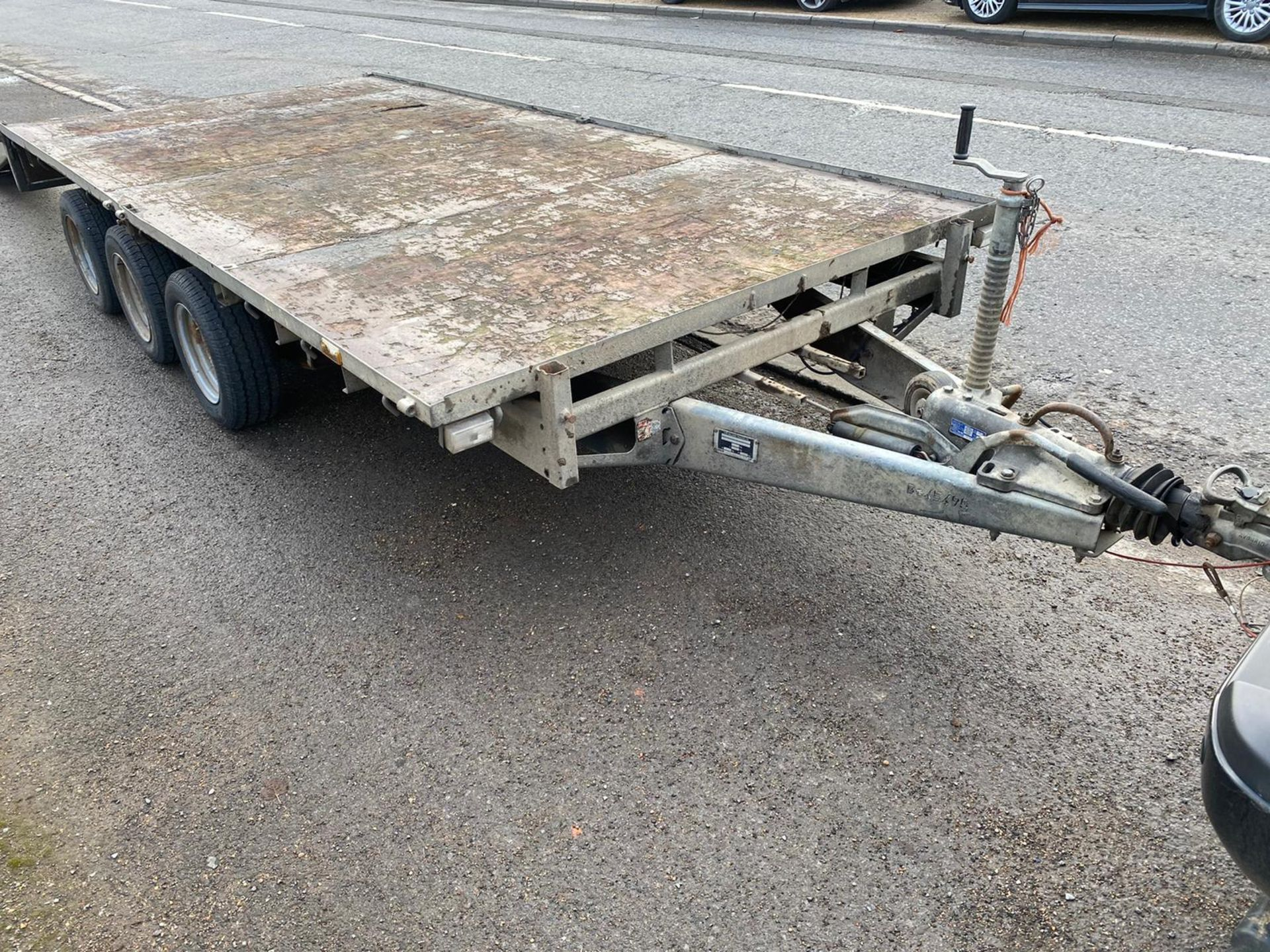 IFOR WILLIAMS LM146G TRI-AXLE TRAILER, RAMPS NOT INCLUDED *PLUS VAT* - Image 4 of 4