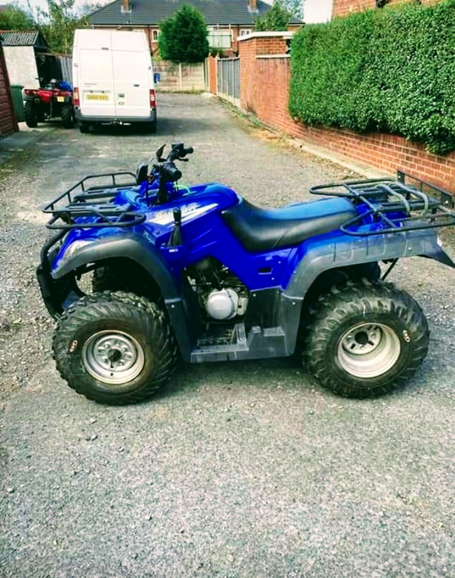 250CC ROAD REGISTERED QUAD BIKE *NO VAT*