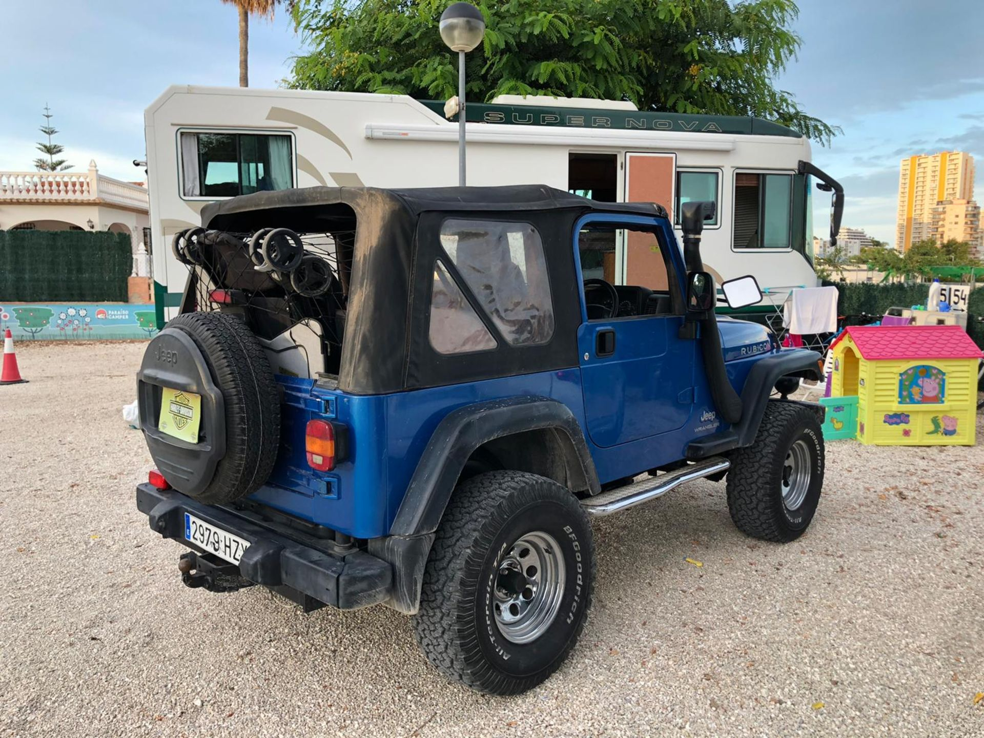 2003 Jeep Rubicon 4.0 Rhd Convertible Spanish registered - Image 5 of 9