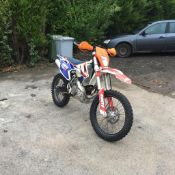 KTM 250 EXC, 2017 BIKE ON A 16 REG, ORIGINAL KTM FOLDER 2 KEEPERS, ACCERBIS X SEAT *NO VAT*