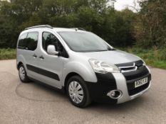 2010/60 REG CITROEN BERLINGO M-SP XTR HDI 109 1.6 DIESEL SILVER MPV, SHOWING 3 FORMER KEEPERS