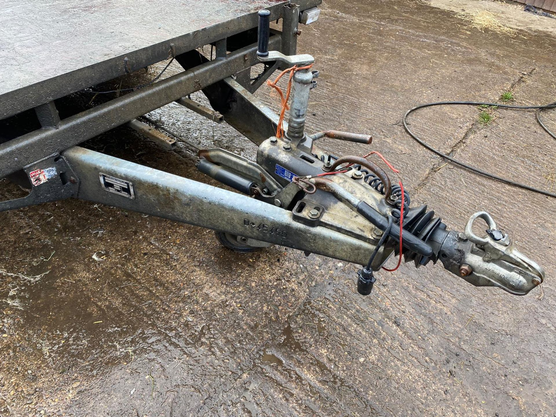 IFOR WILLIAMS LM146G TRI-AXLE TRAILER, RAMPS NOT INCLUDED *PLUS VAT* - Image 2 of 4