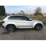 2009 REG BMW X5 4.8L PETROL AUTOMATIC SILVER,SHOWING 1 FORMER KEEPER - left hand drive *NO VAT*