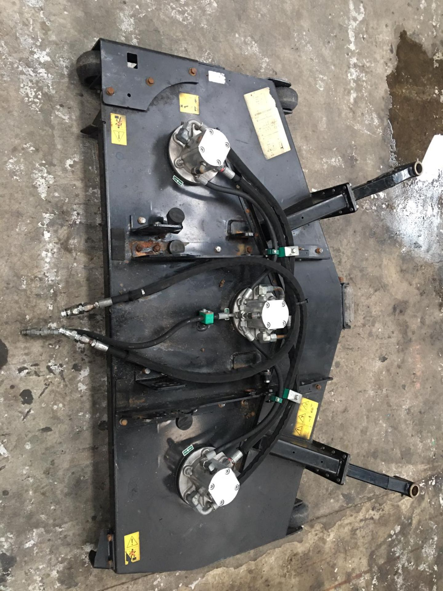 RANSOMES JACOBSEN 5FT HYDRAULIC DECK, IN GOOD WORKING ORDER *NO VAT* - Image 3 of 6