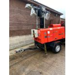 VT1 TOWERLIGHT TOWABLE 10KVA, KUBOTA D1105 ENGINE, 240V 10KVA *PLUS VAT*