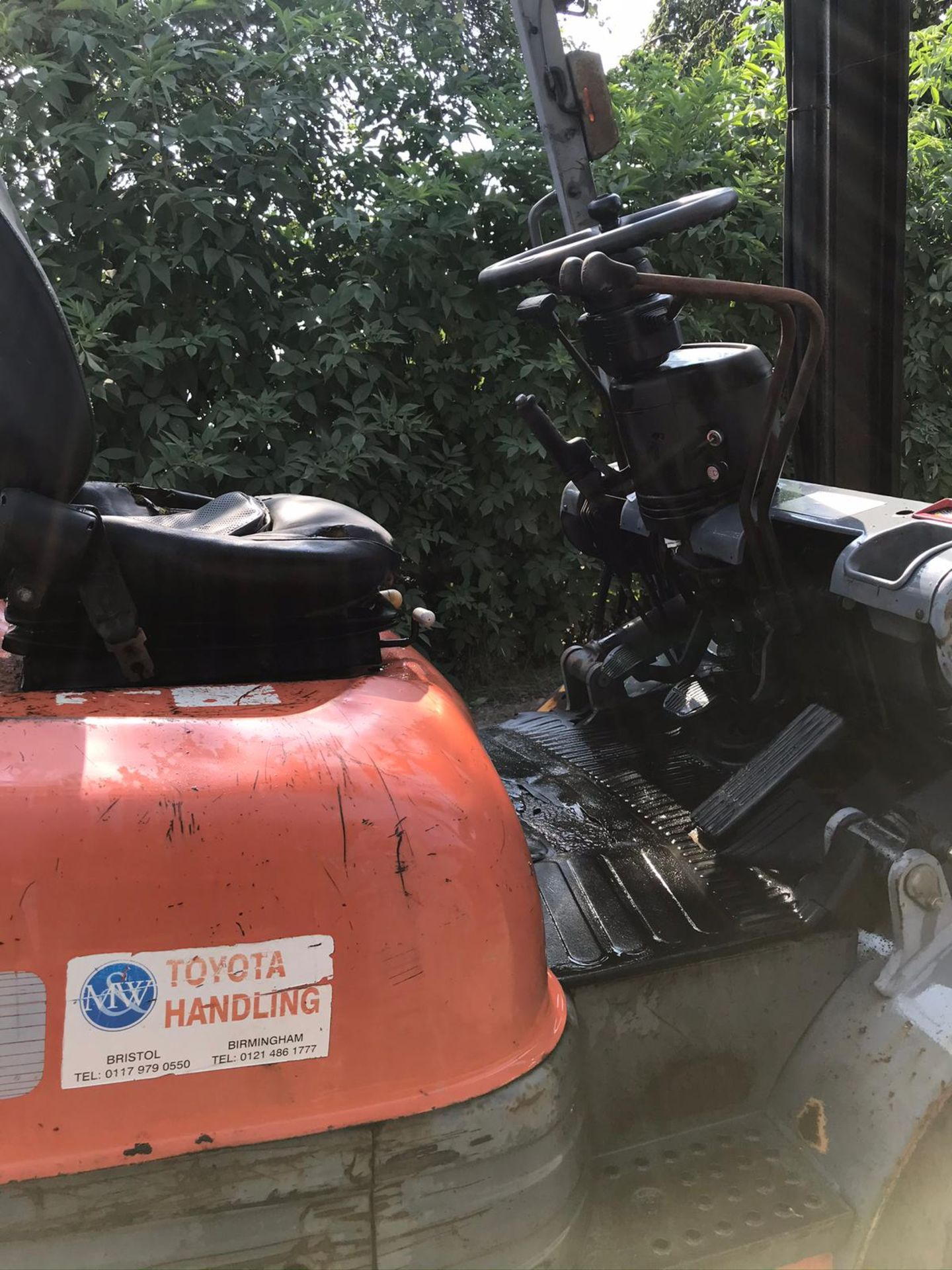 TOYOTA 20 FORKLIFT, RUNS, DRIVES AND LIFTS, CLEAN MACHINE *PLUS VAT* - Image 2 of 5
