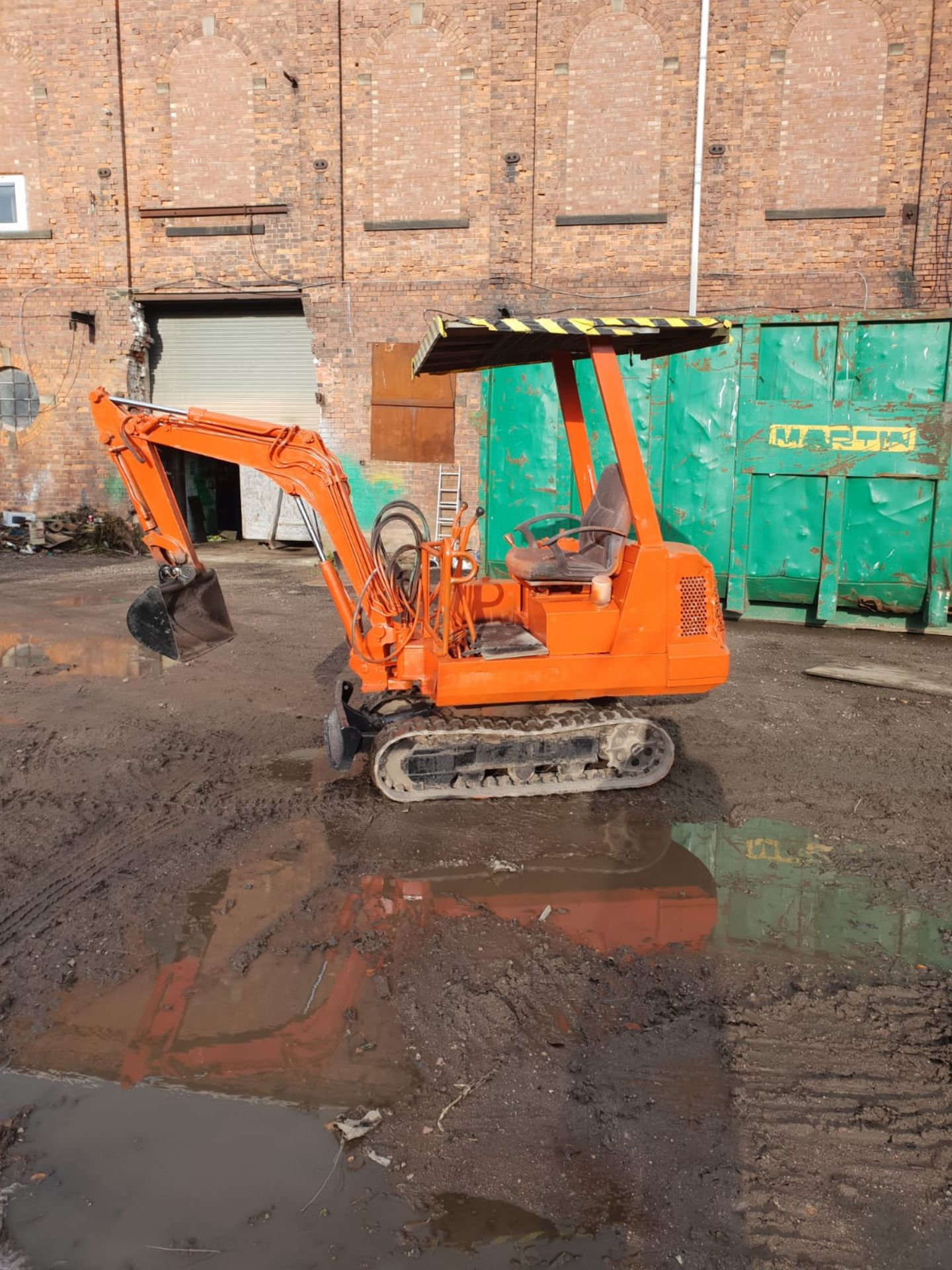 KUBOTA MINI DIGGER RUBBER TRACKED EXCAVATOR, 1.5 TON, STARTS AND DRIVES *NO VAT* - Image 4 of 8