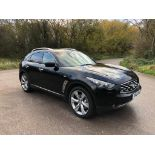 2010/10 REG INFINITI FX30 S AUTO 3.0L DIESEL 7 SPEED AUTOMATIC, SHOWING 2 FORMER KEEPERS *NO VAT*