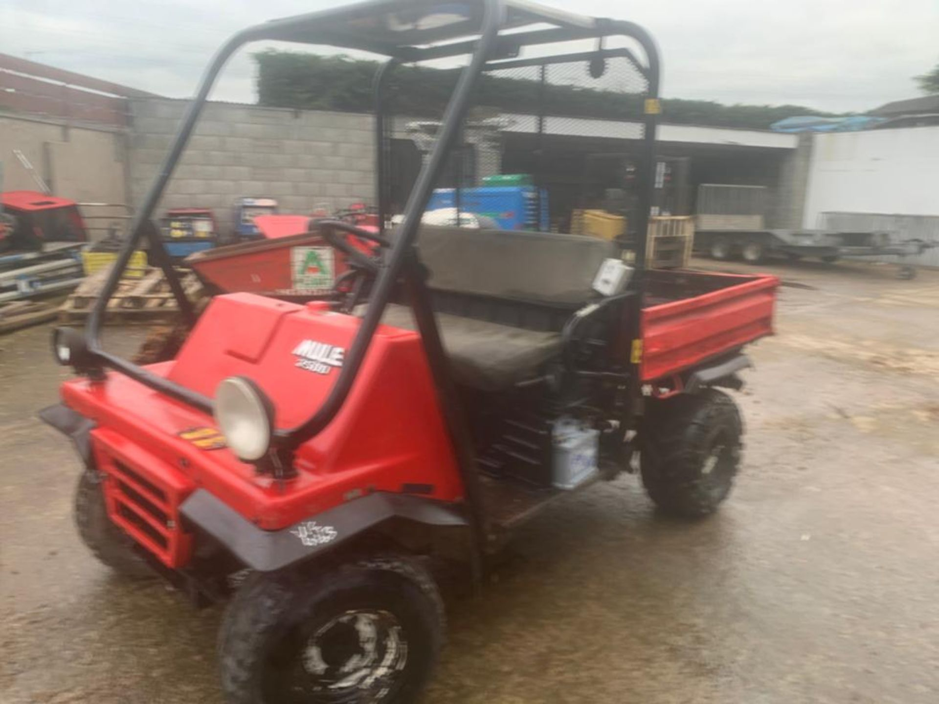 KAWASAKI PETROL MULE, DELIVERY ANYWHERE IN THE UK £300, STARTS, RUNS AND DRIVES *PLUS VAT* - Image 3 of 7