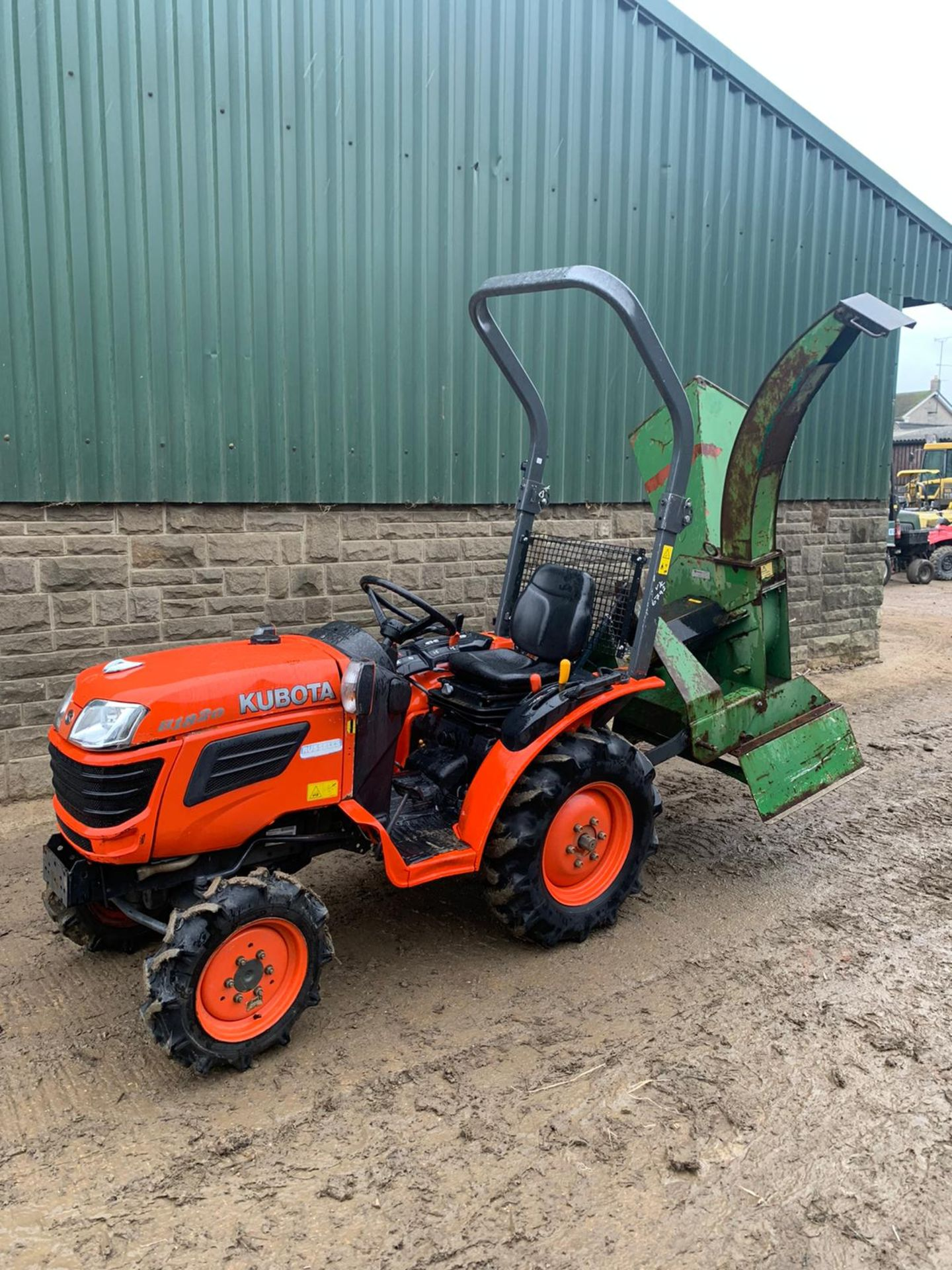 KUBOTA B1820 COMPACT TRACTOR, RUNS, DRIVES AND WORKS, CLEAN MACHINE *PLUS VAT* - Image 6 of 6